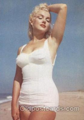 act013129 - Post Card Produced 1984 - 1988, Actress, Model, Marilyn Monroe Postcard