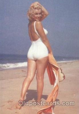 act013135 - Post Card Produced 1984 - 1988, Actress, Model, Marilyn Monroe Postcard