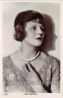 act013175 - Joan Morgan Movie Actor / Actress, Entertainment Postcard Post Card