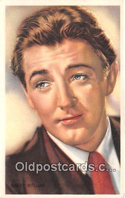 act013199 - Robert Mitchum Movie Actor / Actress, Entertainment Postcard Post Card