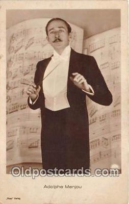 act013220 - Adolphe Menjou Movie Actor / Actress, Entertainment Postcard Post Card