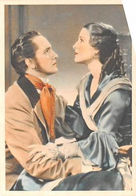 act013319 - Fredric March and Norma Shearer Movie Star Actor Actress Film Star Postcard, Old Vintage Antique Post Card