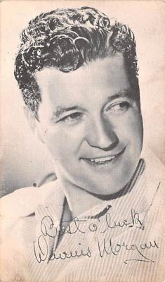 act013428 - Dennis Morgan Movie Star Actor Actress Film Star Postcard, Old Vintage Antique Post Card