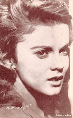 act013467 - Ann Margret Movie Star Actor Actress Film Star Postcard, Old Vintage Antique Post Card
