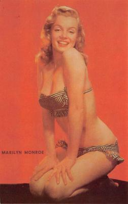 act013479 - Marilyn Monroe Movie Star Actor Actress Film Star Postcard, Old Vintage Antique Post Card