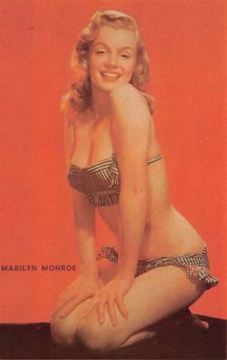 act013480 - Marilyn Monroe Movie Star Actor Actress Film Star Postcard, Old Vintage Antique Post Card