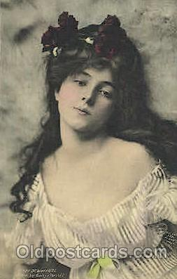 act014015 - Evelyn Nesbit Actor, Actress, Movie Star, Postcard Post Card