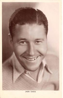 act014041 - Jack Oakie Movie Star Actor Actress Film Star Postcard, Old Vintage Antique Post Card