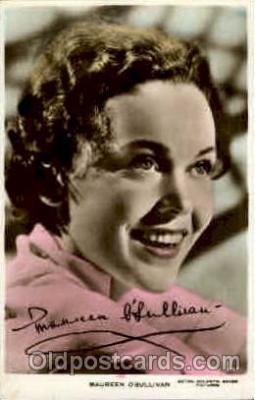 act015008 - Maureen O'Sullivan Actress / Actor Postcard Post Card Old Vintage Antique