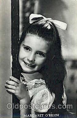 act015013 - Margaret O'Brien Actor, Actress, Movie Star, Postcard Post Card
