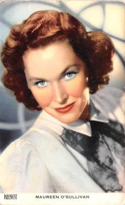 act015049 - Maureen O'Sullivan Movie Star Actor Actress Film Star Postcard, Old Vintage Antique Post Card