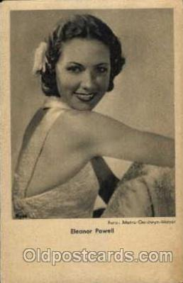 act016028 - Eleanor Powell Actress / Actor Postcard Post Card Old Vintage Antique