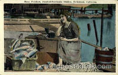 act016045 - Mary Pickford Actress / Actor Postcard Post Card Old Vintage Antique