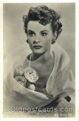 act016055 - Jean Peters Actor, Actress, Movie Star, Postcard Post Card