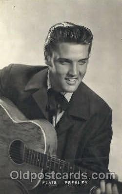 act016072 - Elvis Presley Actor, Actress, Movie Star, Postcard Post Card