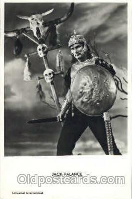 act016074 - Jack Palance Actor, Actress, Movie Star, Postcard Post Card