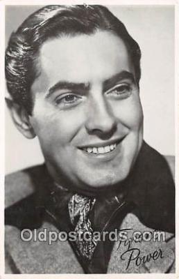 act016097 - Tyrone Power Movie Actor / Actress, Entertainment Postcard Post Card