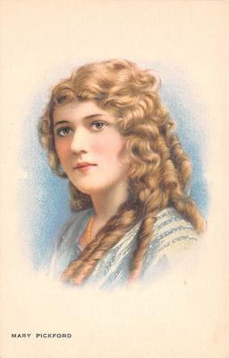 act016210 - Mary Pickford Movie Star Actor Actress Film Star Postcard, Old Vintage Antique Post Card