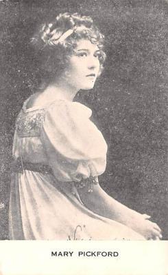 act016247 - Mary Pickford Movie Star Actor Actress Film Star Postcard, Old Vintage Antique Post Card