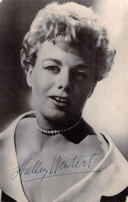 act017003 - Shelley Winters, Executive Suite Movie Star Actor Actress Film Star Postcard, Old Vintage Antique Post Card