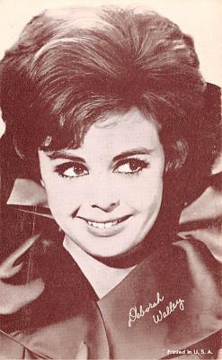 act017005 - Deborah Walley Movie Star Actor Actress Film Star Postcard, Old Vintage Antique Post Card