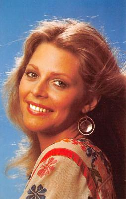 act017026 - Lindsay Wagner Movie Star Actor Actress Film Star Postcard, Old Vintage Antique Post Card