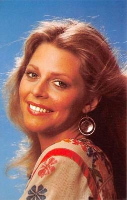 act017027 - Lindsay Wagner Movie Star Actor Actress Film Star Postcard, Old Vintage Antique Post Card