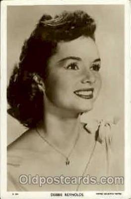 act018037 - Debbie Reynolds Actress / Actor Postcard Post Card Old Vintage Antique