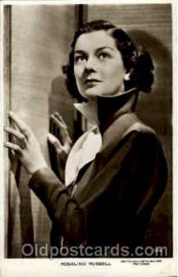 act018039 - Rosalind Russell Actress / Actor Postcard Post Card Old Vintage Antique