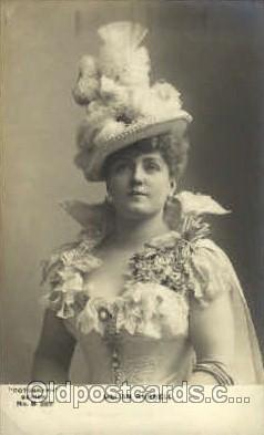 act018057 - Lillian Russell Actress / Actor Postcard Post Card Old Vintage Antique