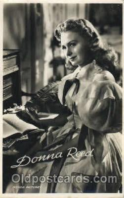 act018073 - Donna Reed Actor, Actress, Movie Star, Postcard Post Card