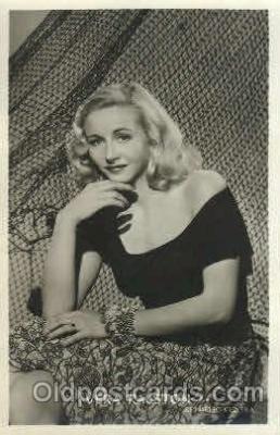 act018077 - Vera Ralston Actor, Actress, Movie Star, Postcard Post Card