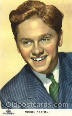 act018088 - Mickey Rooney Actor, Actress, Movie Star, Postcard Post Card