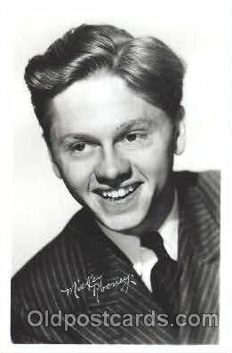 act018093 - Mickey Rooney Actor, Actress, Movie Star, Postcard Post Card