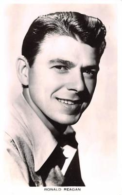 act018148 - Ronald Reagan Movie Star Actor Actress Film Star Postcard, Old Vintage Antique Post Card