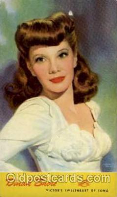 act019022 - Dinah Shore Actress / Actor Postcard Post Card Old Vintage Antique