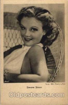 act019045 - Simone Somon Actress / Actor Postcard Post Card Old Vintage Antique