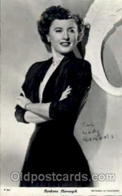 act019058 - Barbara Stanwyck Actress / Actor Postcard Post Card Old Vintage Antique