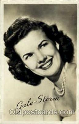 act019060 - Gale Storm Actress / Actor Postcard Post Card Old Vintage Antique