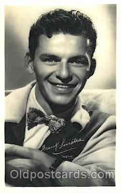 act019096 - Frank Sinatra Actor, Actress, Movie Star, Postcard Post Card