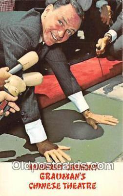 act019129 - Frank Sinatra Movie Actor / Actress, Entertainment Postcard Post Card