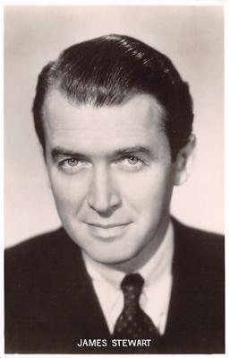 act019155 - James Stewart Movie Star Actor Actress Film Star Postcard, Old Vintage Antique Post Card