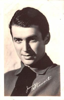 act019169 - James Stewart Movie Star Actor Actress Film Star Postcard, Old Vintage Antique Post Card