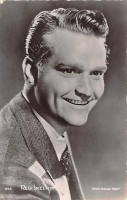 act019187 - Red Skelton Movie Star Actor Actress Film Star Postcard, Old Vintage Antique Post Card