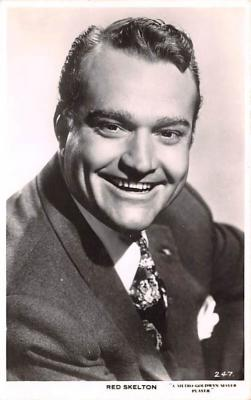 act019202 - Red Skelton Movie Star Actor Actress Film Star Postcard, Old Vintage Antique Post Card