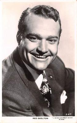 act019204 - Red Skelton Movie Star Actor Actress Film Star Postcard, Old Vintage Antique Post Card