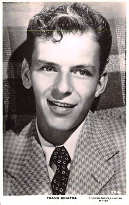 act019229 - Frank Sinatra Movie Star Actor Actress Film Star Postcard, Old Vintage Antique Post Card
