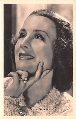 act019242 - Norma Shearer Movie Star Actor Actress Film Star Postcard, Old Vintage Antique Post Card