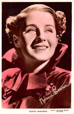 act019259 - Norma Shearer Movie Star Actor Actress Film Star Postcard, Old Vintage Antique Post Card