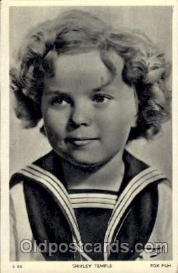 Shirley Temple Actor / Actress Postcard Post Card Old Vintage Antique